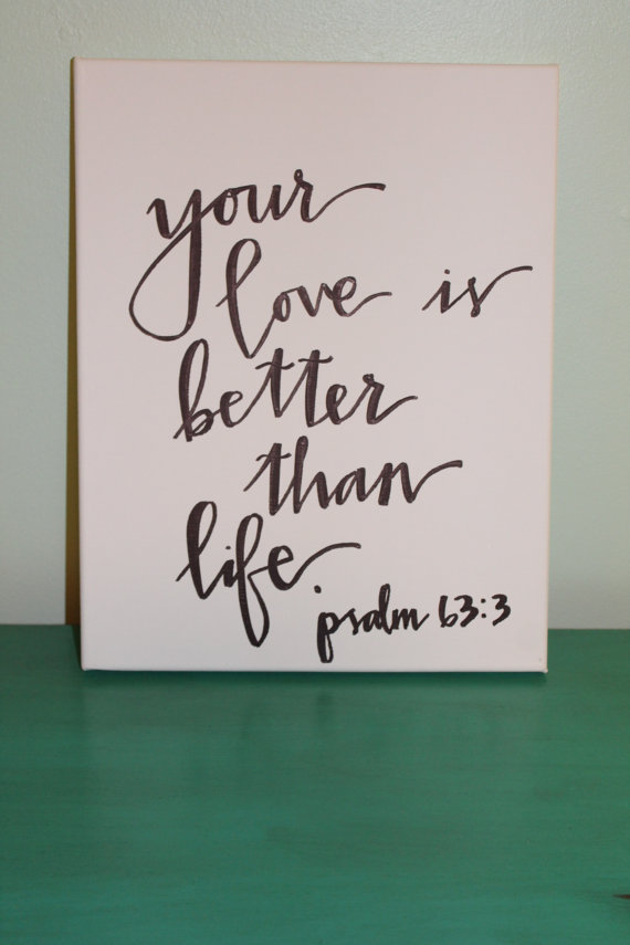 Handdrawn Bible Verse Canvas Love Quote Canvas By Accreweddesign Custom Canvas Love Quotes
