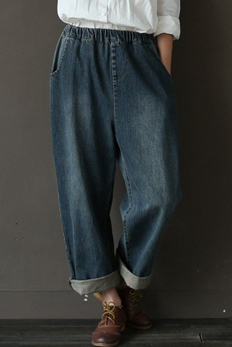 a139692f844 Vintage Cowboy Jeans Pants Women Trousers Care  hand wash or machine wash  gentle
