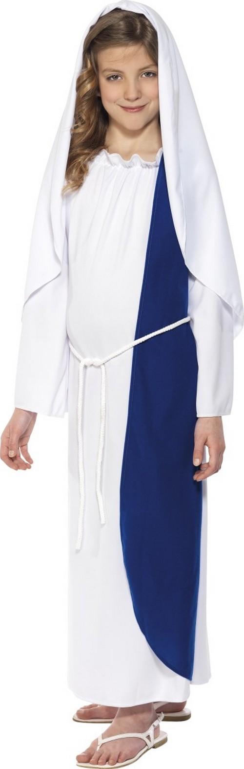97c8dfac13db24 Kostuums · Verkleedkostuum Heilige Maagd Maria Kerst voor meisjes
