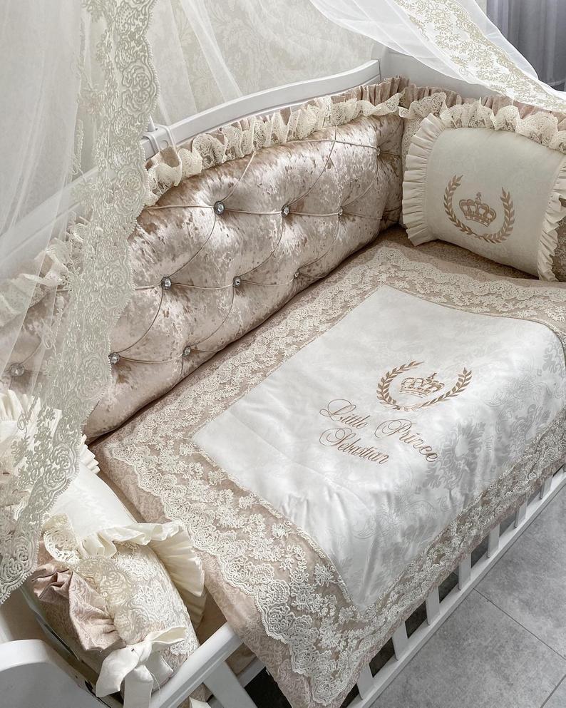 кружевное постельное белье детское