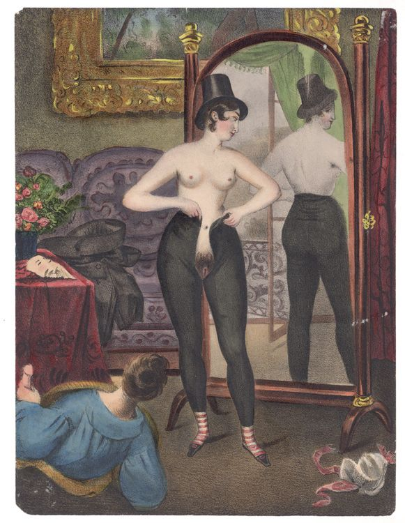 19th art century early erotic romantique picture 378