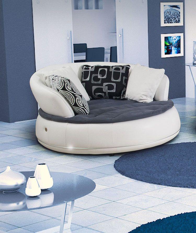 Divani Curvi Design.25 Modelli Di Divani Curvi Dal Design Particolare Divani