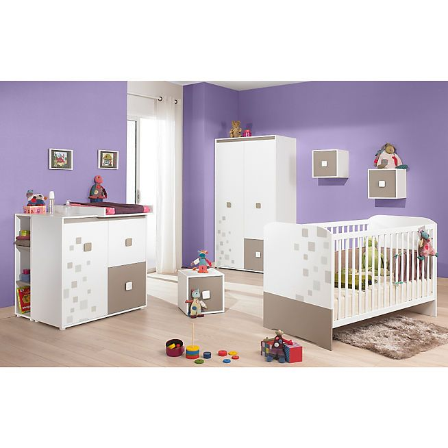 c sar lit b b barreaux 70x140cm pour b b mobilier de salon chambre et lit enfant. Black Bedroom Furniture Sets. Home Design Ideas