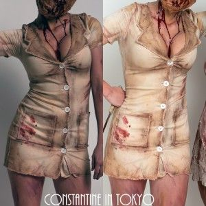 DIY Silent Hill Nurse Costume
