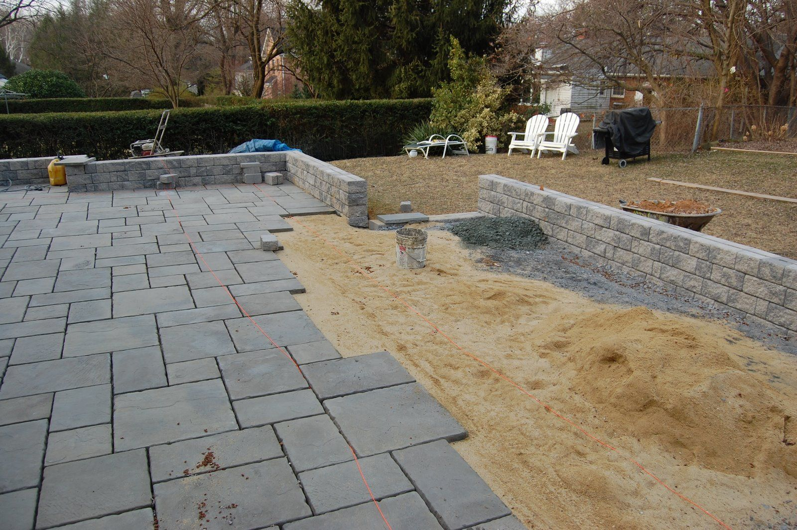 flagstone patio ideas 25 great stone patio ideas for your home 1920s patio material design patio - Bluestone Patio Ideas