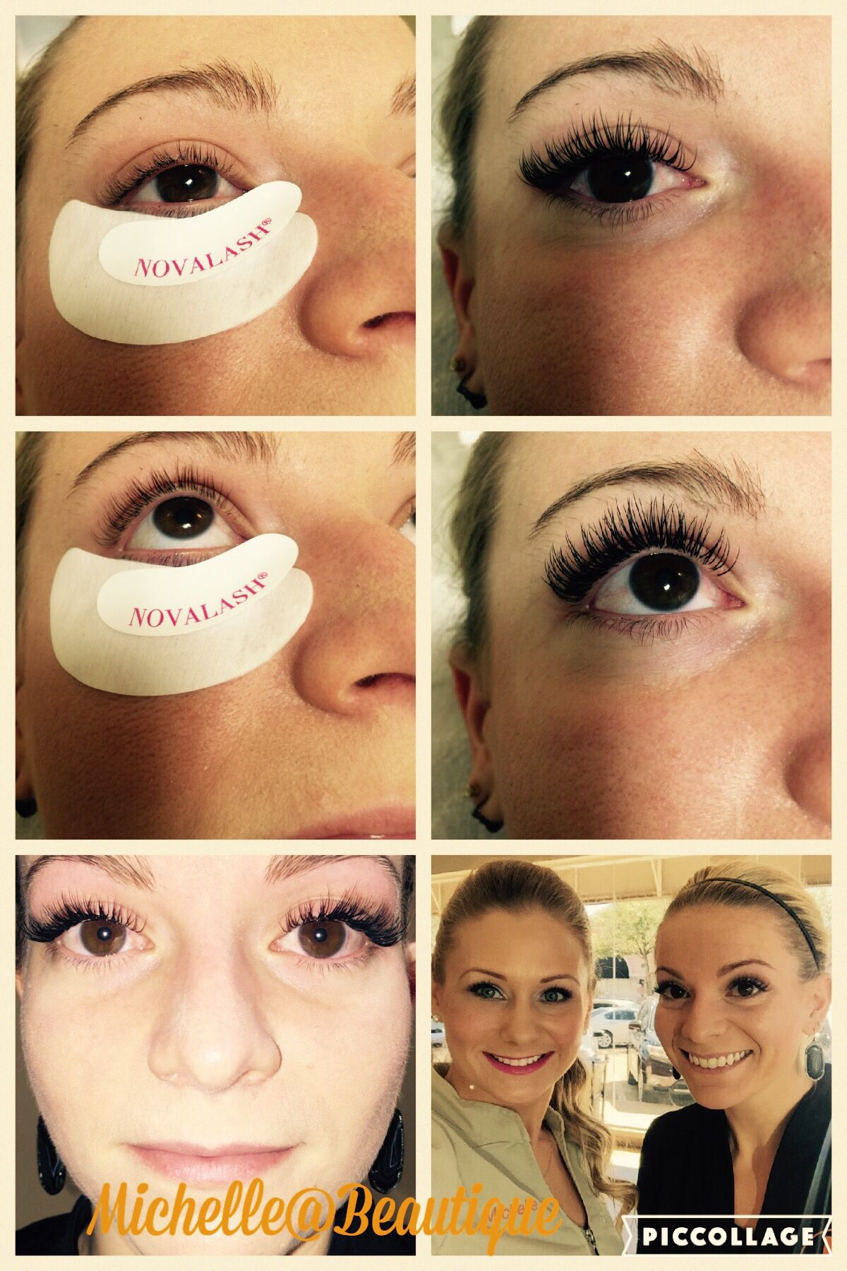 Nova Lash Extensions I Used Novaminx Mix D Curl 8mm10mm And 12mm
