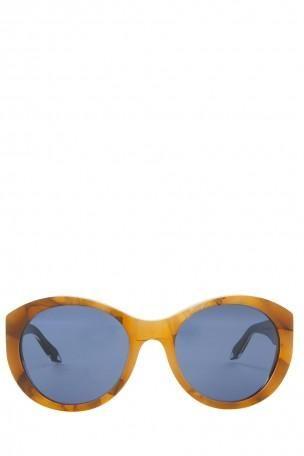 VICTORIA BECKHAM Upswept Marble Sunglasses. #victoriabeckham #