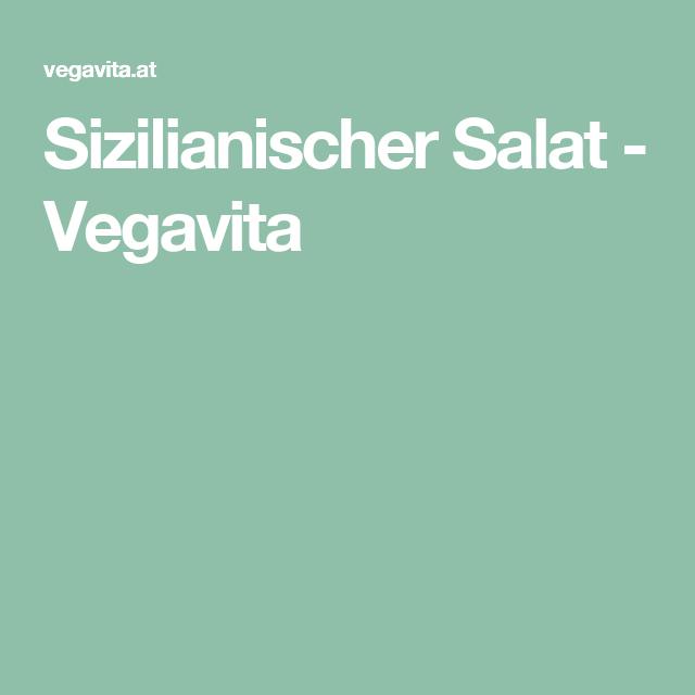 Sizilianischer Salat - Vegavita