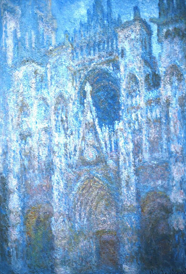 Monet, Rouen Cathedral series