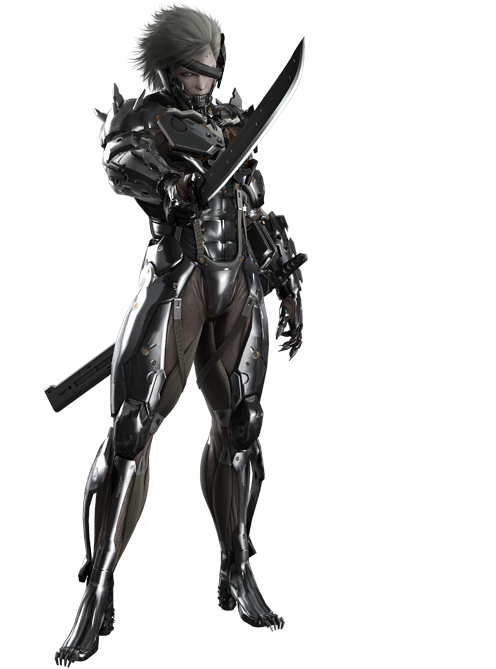 Metal Gear Rising 3D Models Minecraft