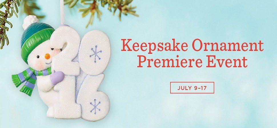 Hallmark Keepsake Ornament Premier July 9-17 Special Offers