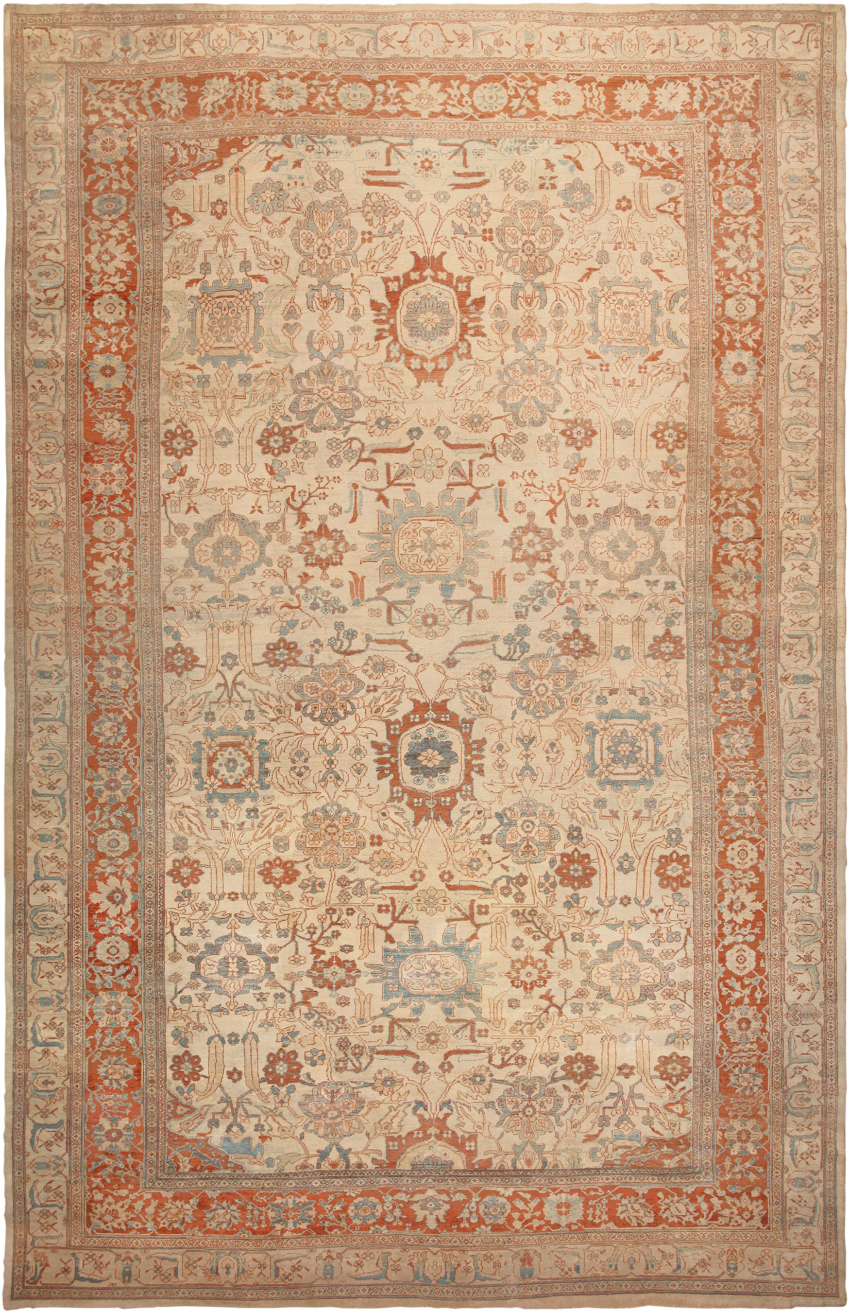 Ziegler Sultanabad Antique Mahal Rug 46452 Nazmiyal Rugs On Carpet Sultanabad Rug Rugs