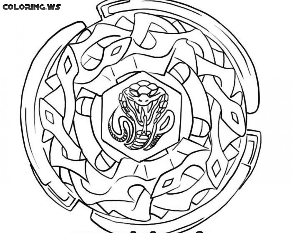 Beyblade 08 Free Printable Coloring Pages Coloring Pages