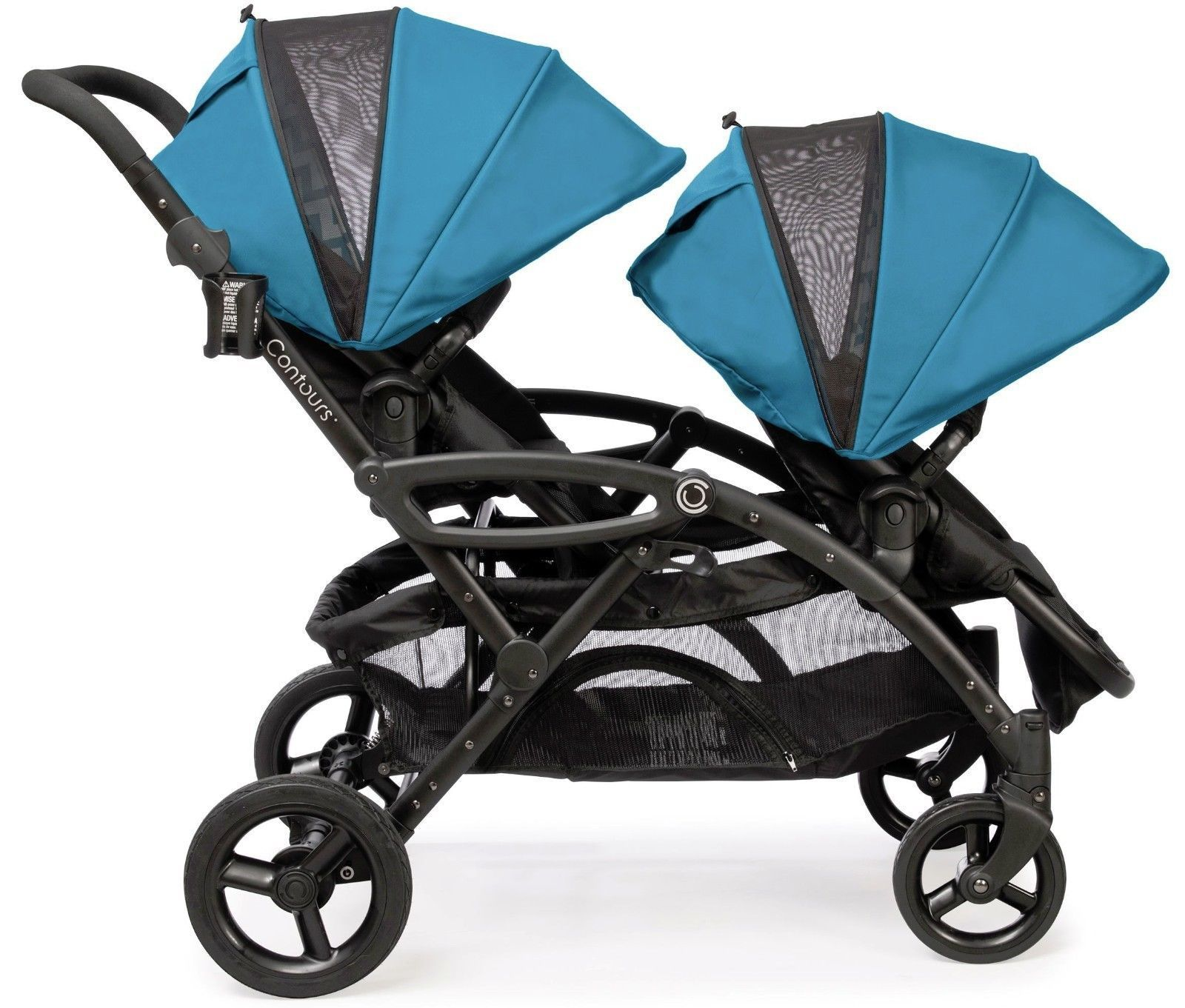 Contours Options Elite Twin Tandem Baby Double Stroller