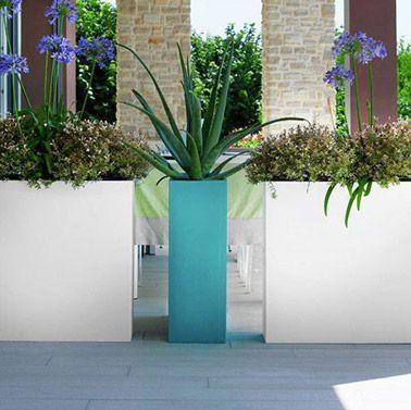 Des pots d 39 ext rieur d co pour mettre en valeur le jardin - Huis deco exterieur ...