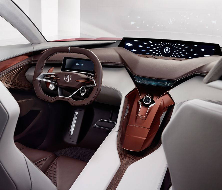 Acura future vehicles precision concept quantum continuum - Car interior design ...
