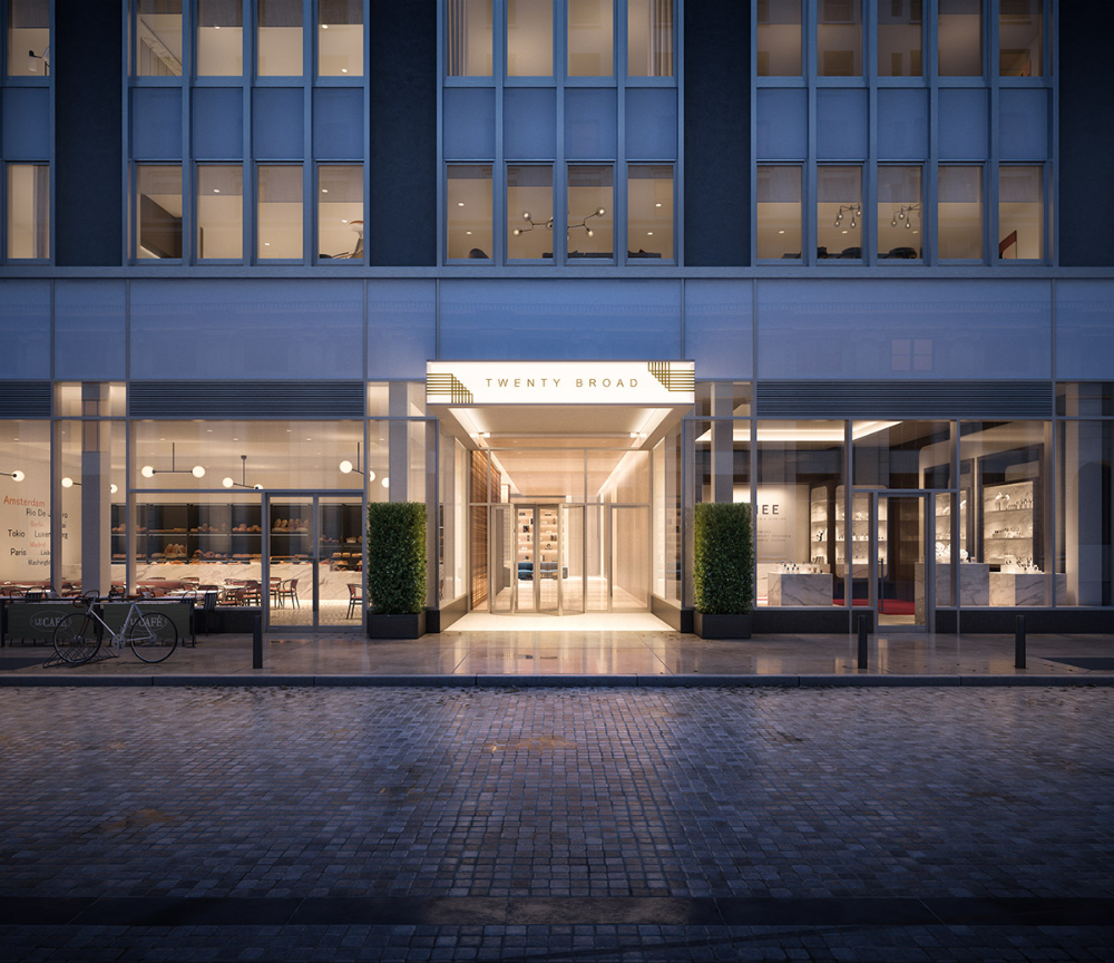 Leasing Launches At 20 Broad Street Financial District Manhattan In 2020 Manhattan Residence Luxury Rentals House Styles