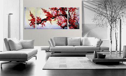 sorprendentes pinturas para cuadros para living modernos ...