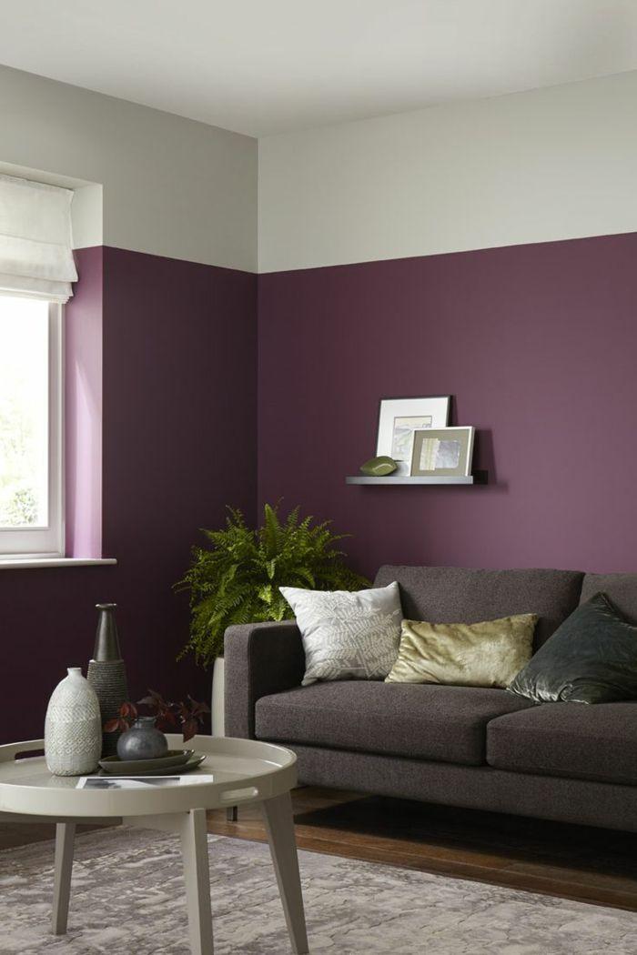1001 ideas sobre colores para salones y c mo pintar la - Colores para pintar un salon pequeno ...