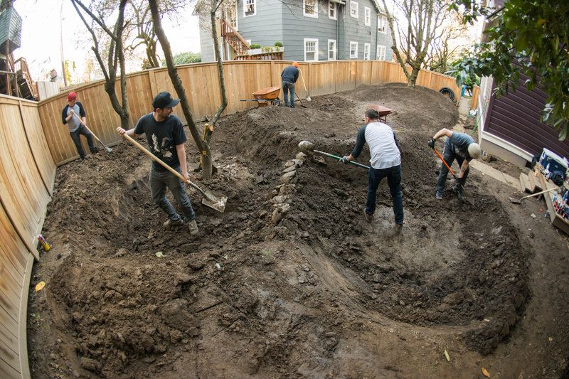 How To Build Your Own Backyard Pump Track Dirt Bike Track