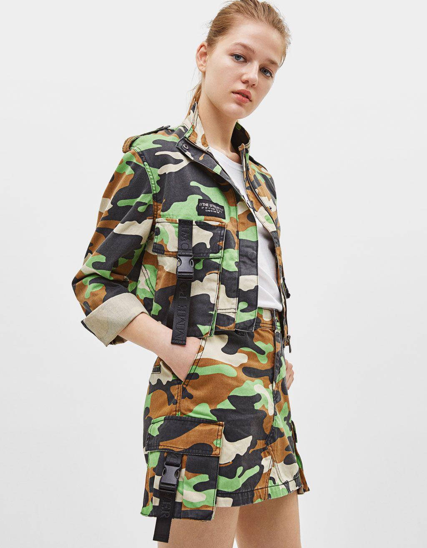 Catalogo Bershka Primavera Verano 2019 Tendencias De Moda Moda Falda De Camuflaje