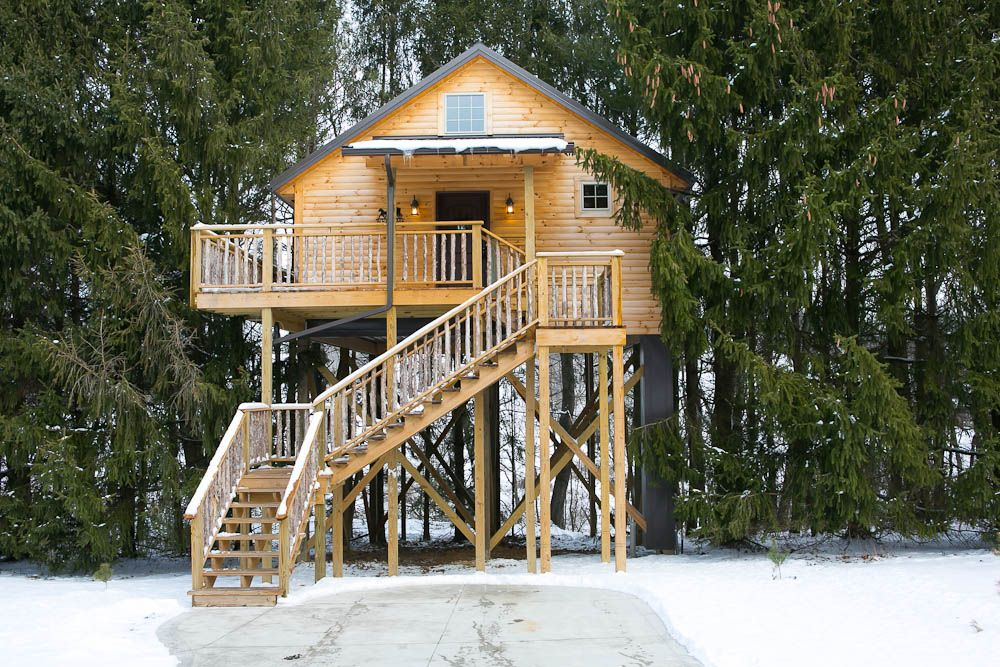 Amish Country Tree House Cabins #amishcountrylodging, #treehousecabins · Berlin  OhioWeekend ...