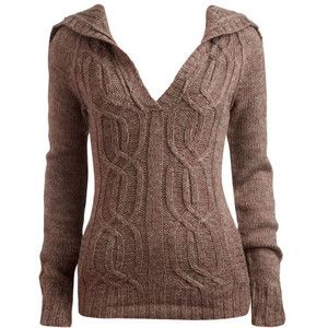 hooded knit sweater - Google Search | Good ideas | Pinterest