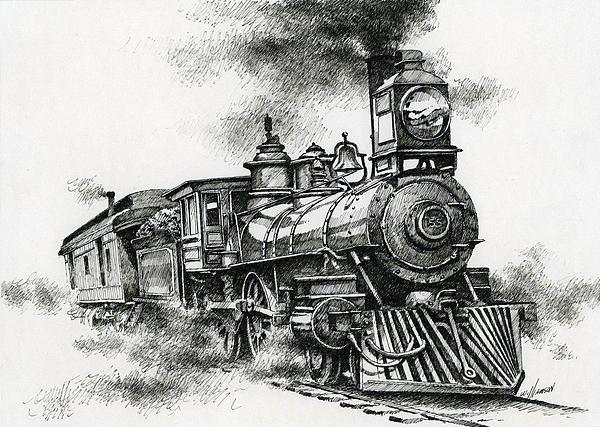 Antique Train Line Drawings Google Search Dessin Train Dessin