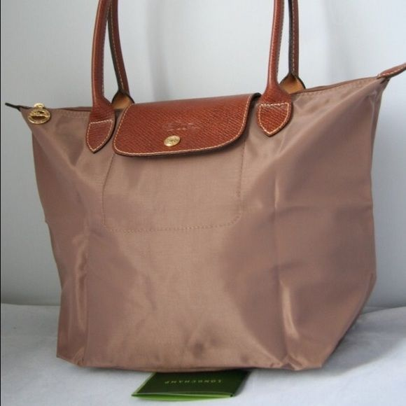 Longchamp Longchamp Le Pliage in Praline in small. Used but still in good  condition.