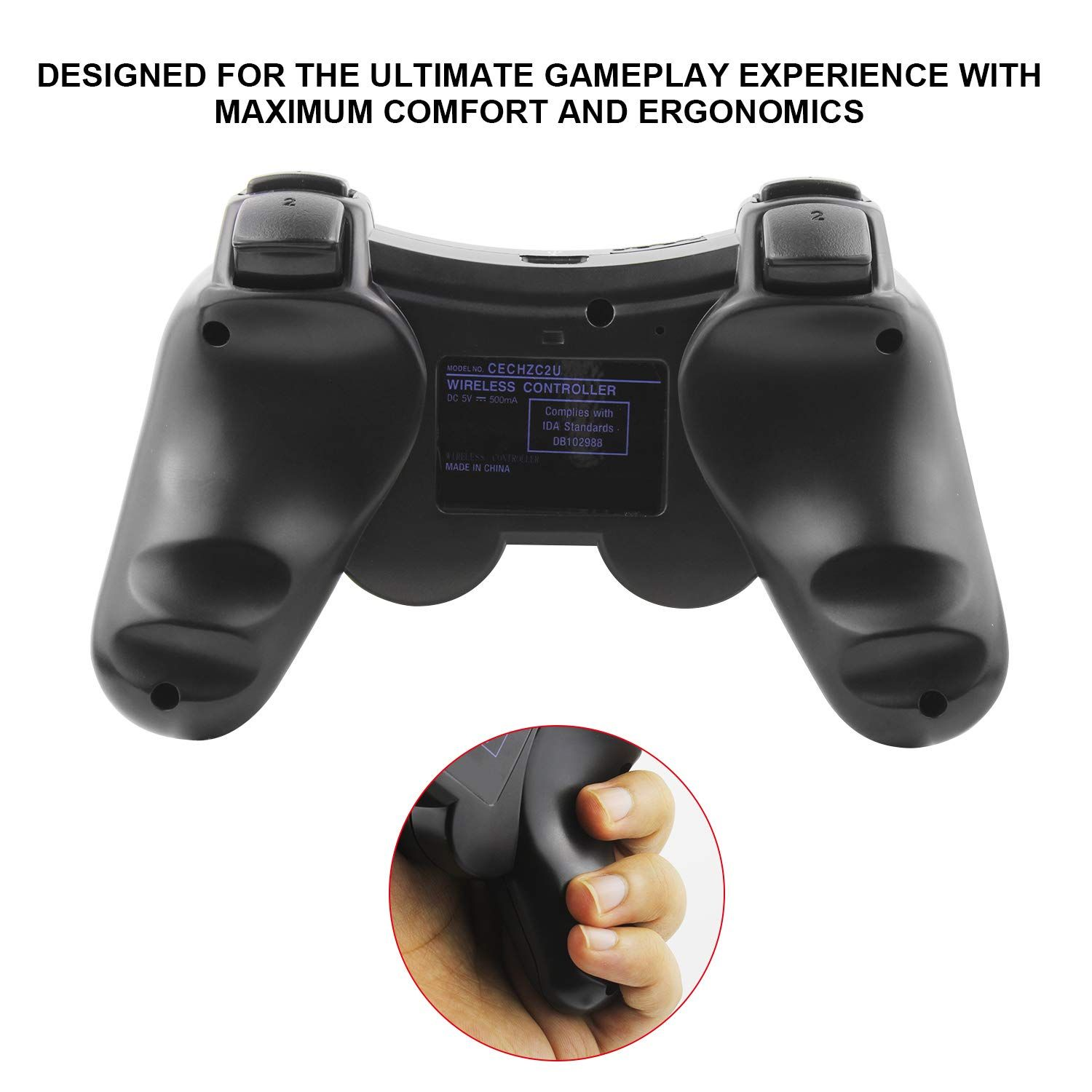 Jamswall Wireless Ps3 Controller Wireless Gamepad For Playstation 3 Bluetooth Gaming Sixaxis Joystic Wireless Controller Online Video Games Video Games Funny