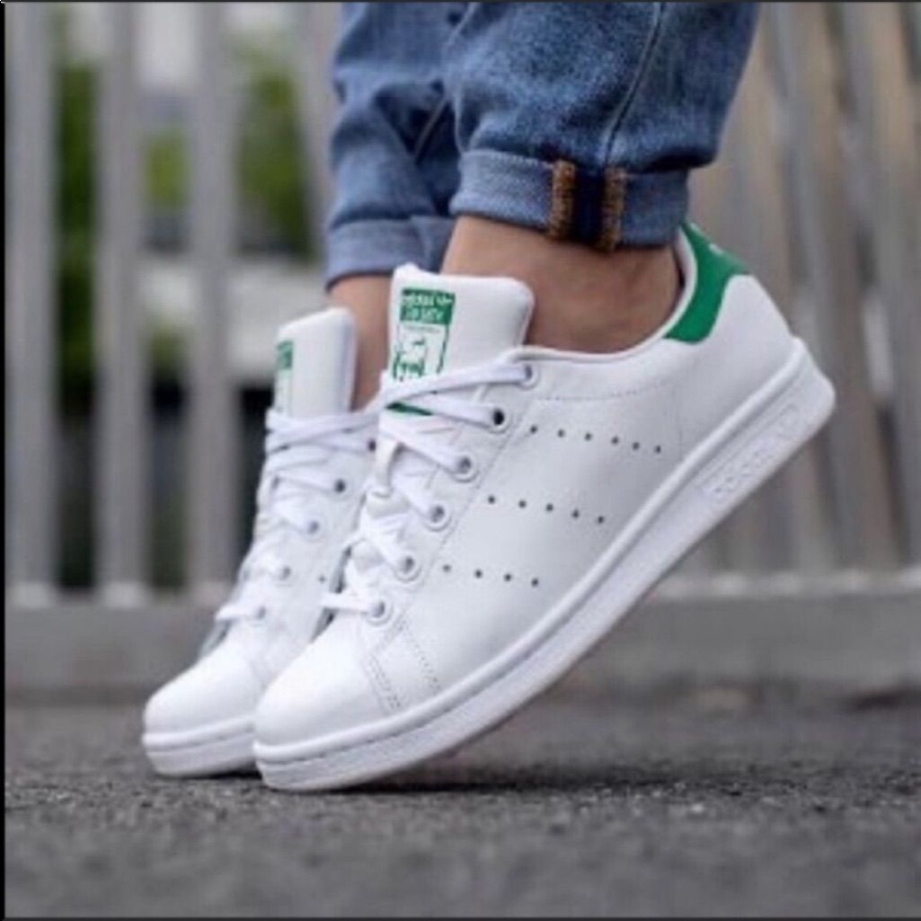 adidas blancas stan smith verdes