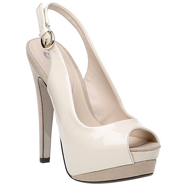 Baťa beige pumps from new collection spring 13