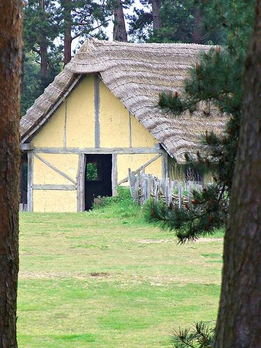 West Stow Anglo-Saxon Village, Suffolk