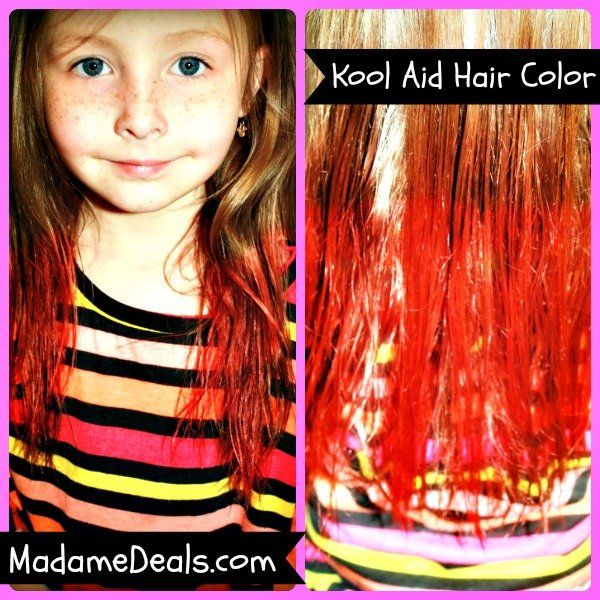 Have Fun With Your Kids With This Kool Aid Hair Dye Recipe Pair