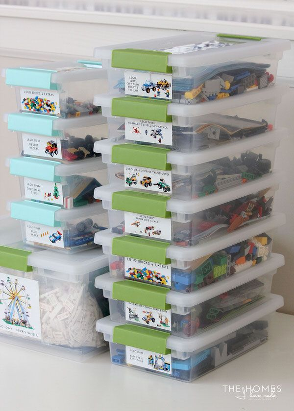Organize This: Legos (A Simple Way to Sort and Organize Lego Kits!) | The Homes I Have Made