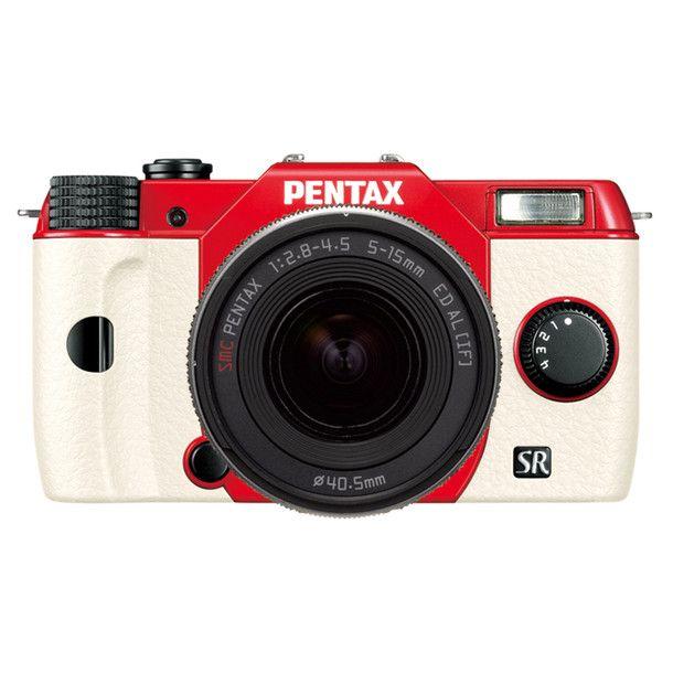 Pentax Q7 Zoom Lens Kit Red White