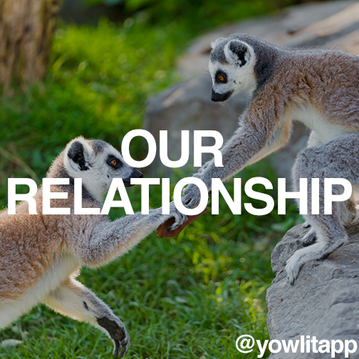 Hey world! It's almost time we take our #relationship to the next level - crowd funding! Be on the lookout for updates! #yowlit