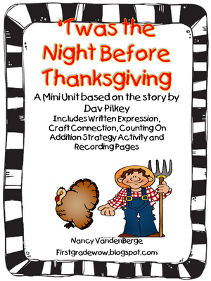 Twas Night Before Thanksgiving And All >> Twas The Night Before Thanksgiving Text Connections Freebie