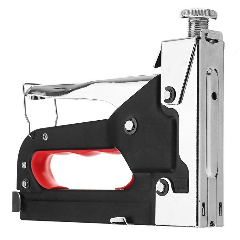 Multi Tool Nail Staple Gun Furniture Stapler For Wood Door Upholstery Frami