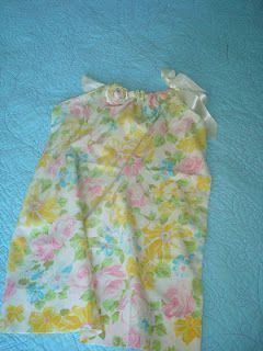 pillow case dress from vintage pillow case,,, : pillow case dress from vintage : pillow case