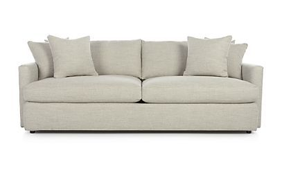 "Lounge II 93"" Sofa - Cement 