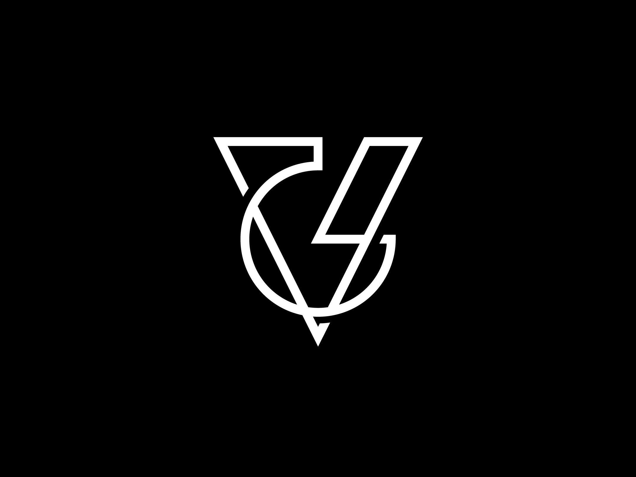 Gv Monogram Letter Logo Design V Logo Design Logo Design