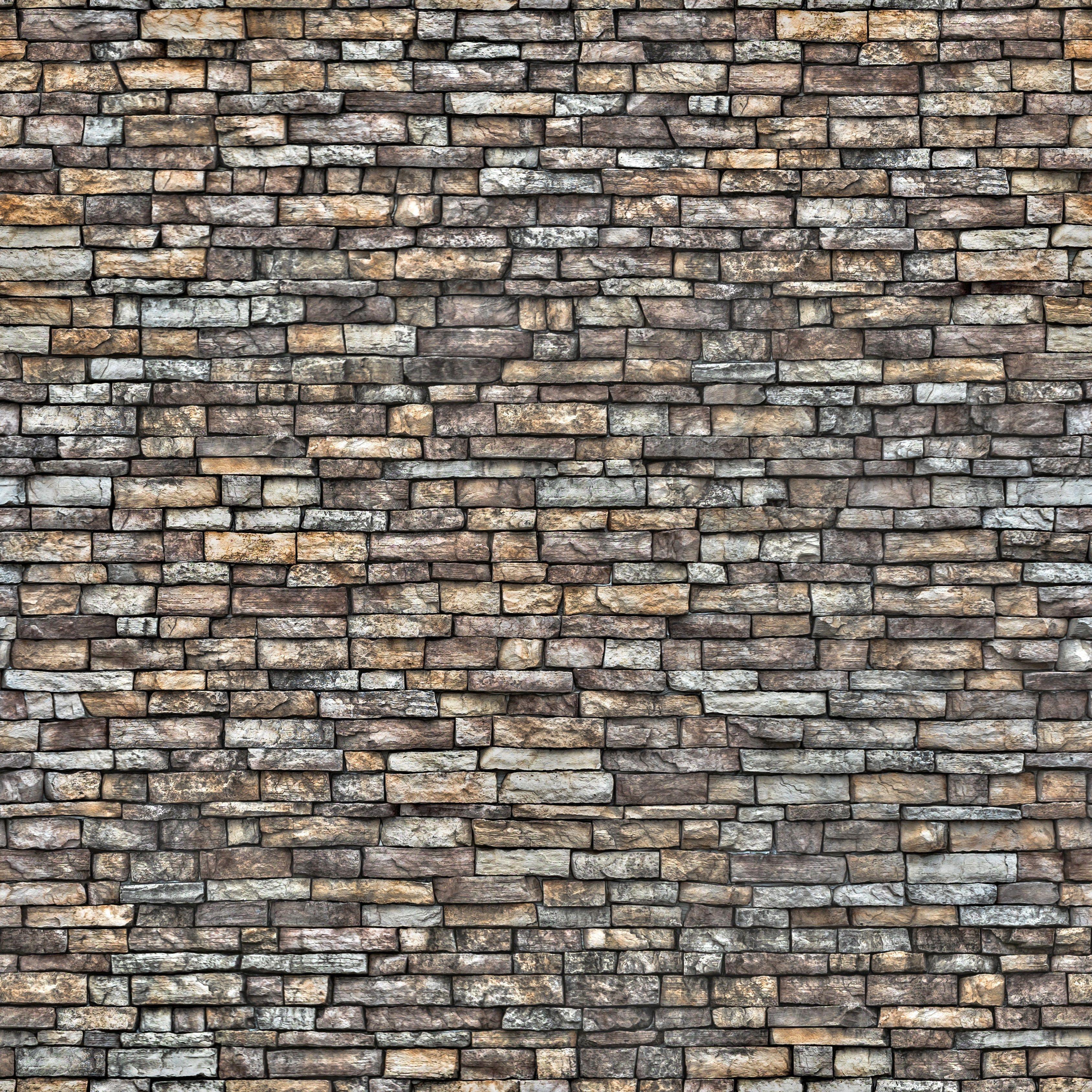 Warm Rectangular Stone Wall Stone Wall Backdrop Stone Wall