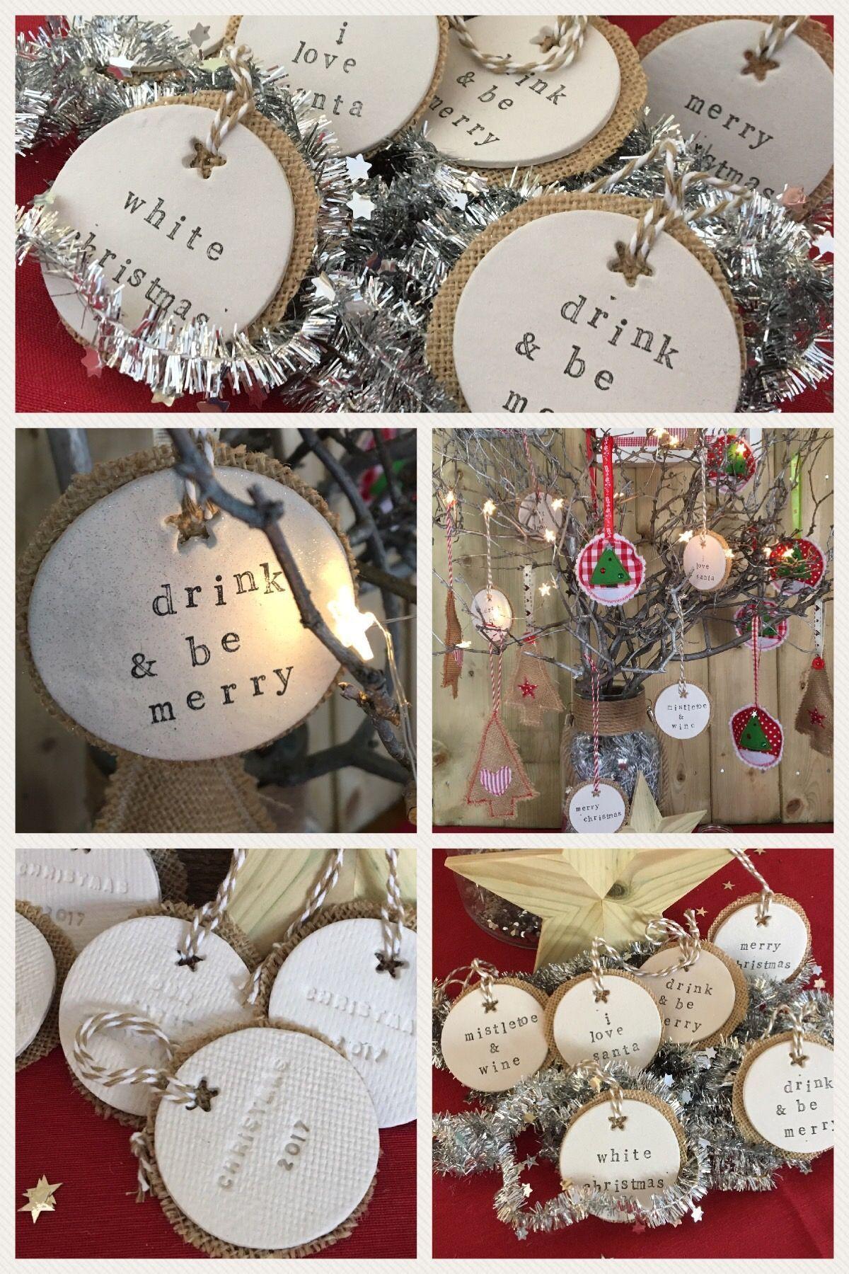 Clay Tree Decoration ~ Christmas ~ Christmas Tree Decoration ~