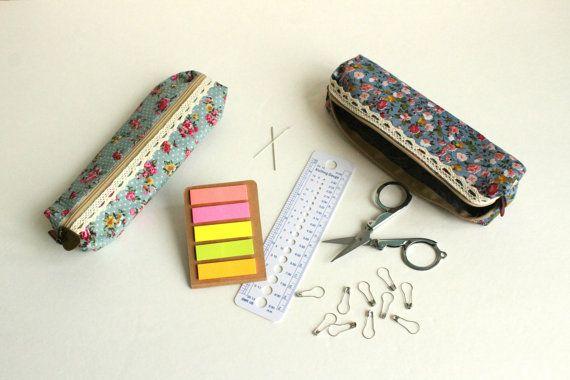 Knitting Tool Bag by alittleknittyjen on Etsy
