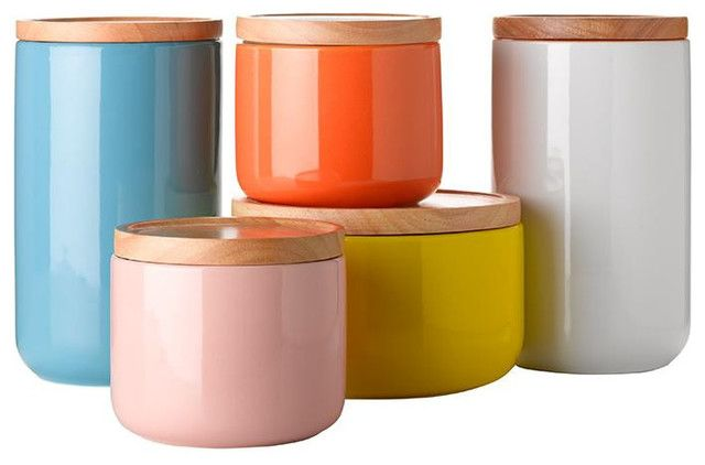 Kitchen Containers With General Eclectic Canisters Contemporary Kitchen  Canisters And Jars
