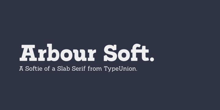 Arbour Soft Font Download Font Shop Soft Myfonts
