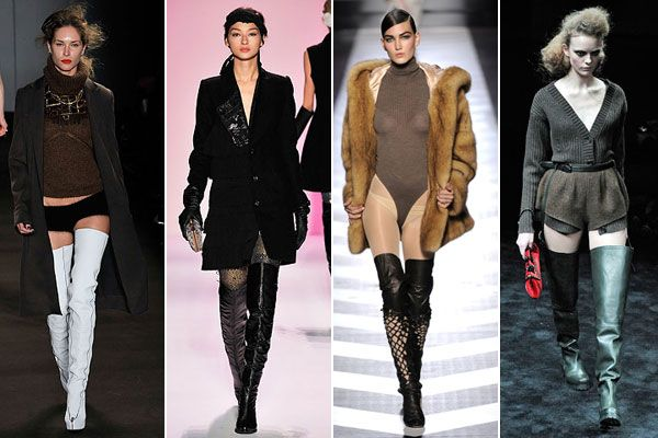 Thigh High Boots-Outfits to Wear with Thigh High Boots | High