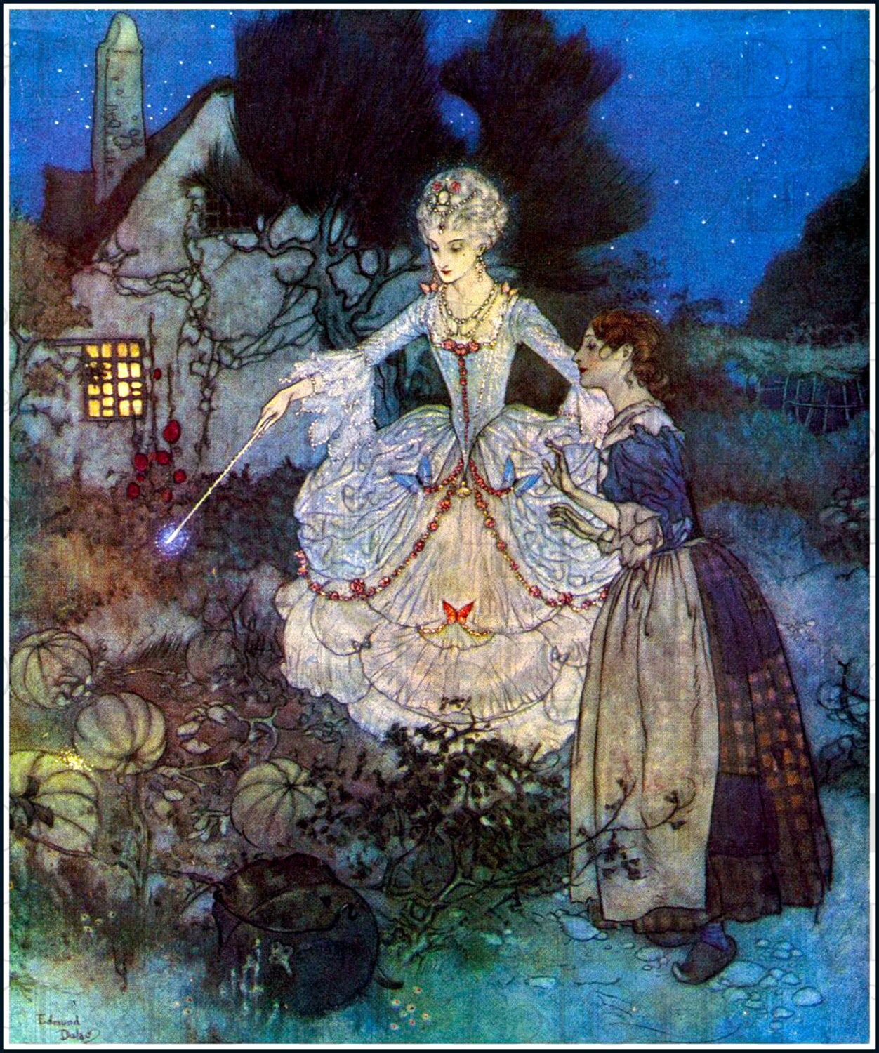Spectacular Favorite Cinderella And Fairy Godmother Fairy Tale