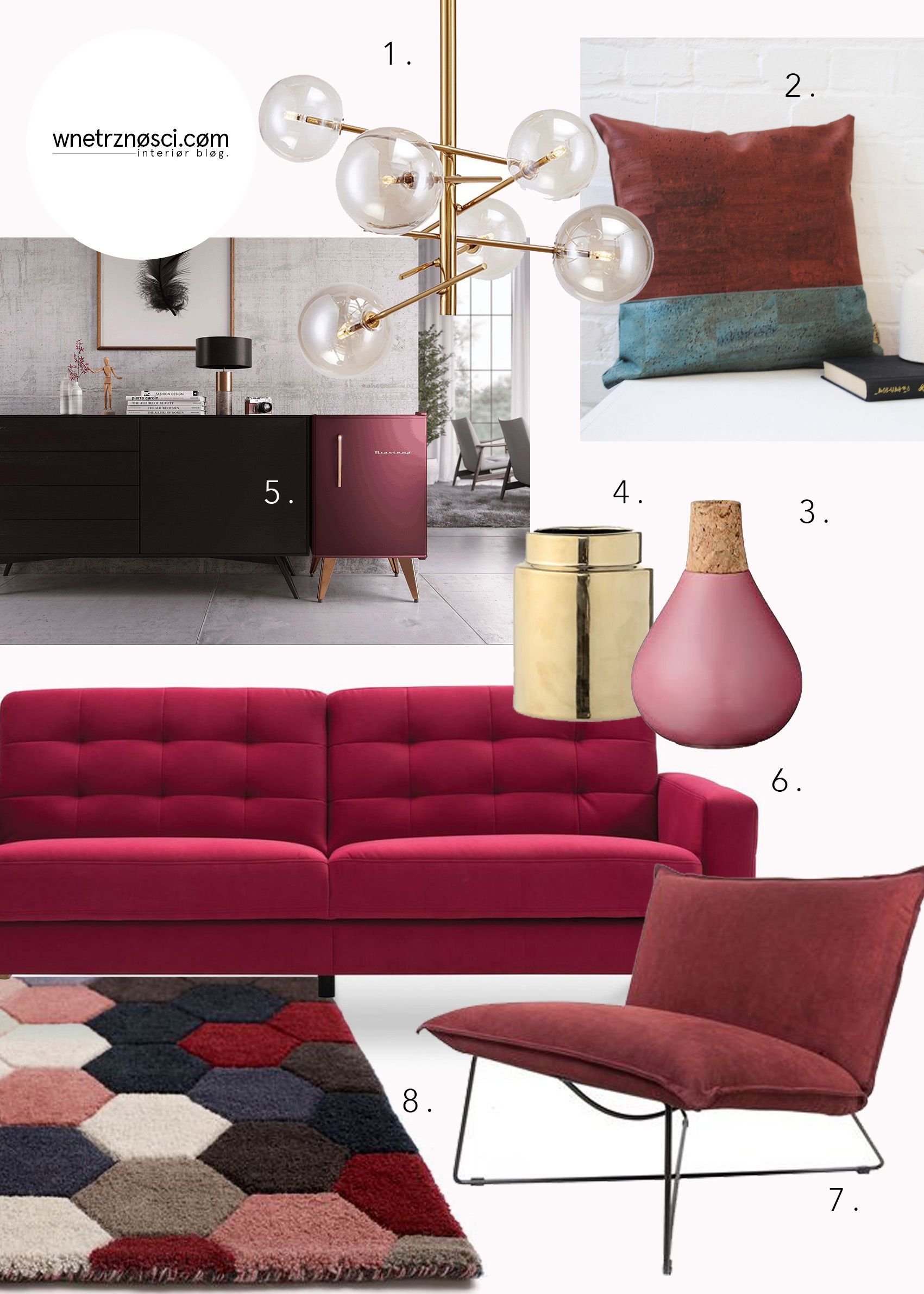 Moodboard burgundy interior color trends paint colors mood boards couch burgundy